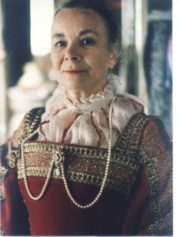 Detail of Titian dress