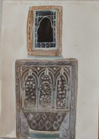 Maison Tiskiwin, carved plaster