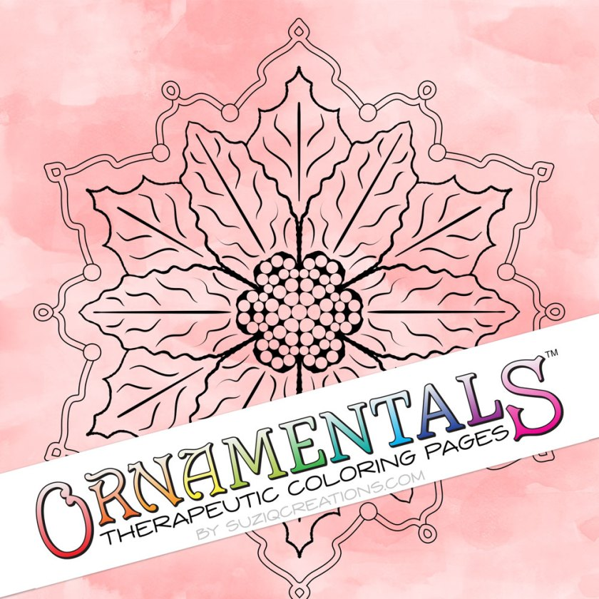 ornamentals poinsettia coloring page  free sample  suziq