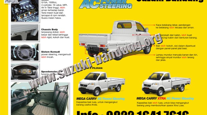 suzuki mega carry pick up bandung