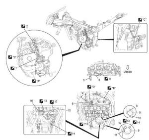 Suzuki GSXR 1000 Service Manual: Wiring harness routing