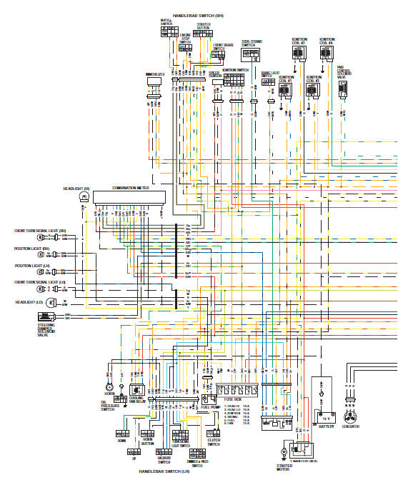suzuki gsxr 1000 service manual wiring diagram  schematic