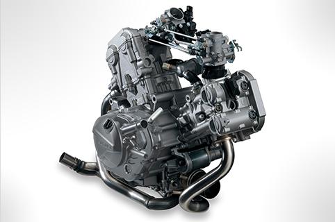 V-Twin水冷DOHC引擎