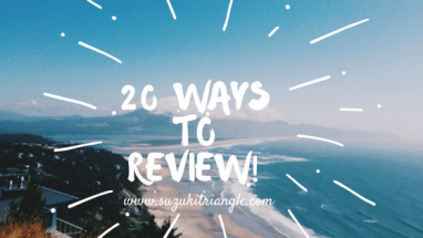 20 ways to Suzuki Review
