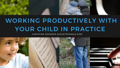 Working Productively With Your Child in Practice Email Course