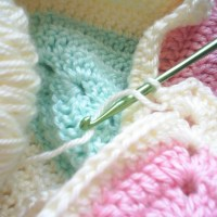 Wordless Wednesday: WIP Baby Blanket