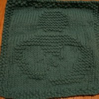 Breastfeeding Advocacy Dishcloth Pattern: Tandem Nursing Version