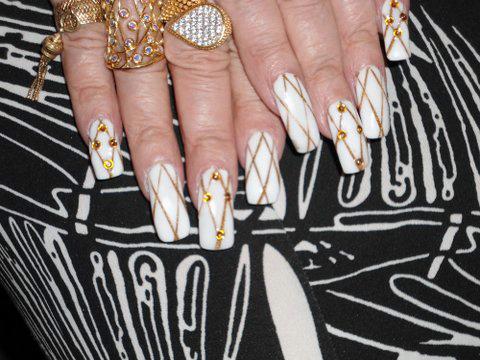 Glamorous granny new nails