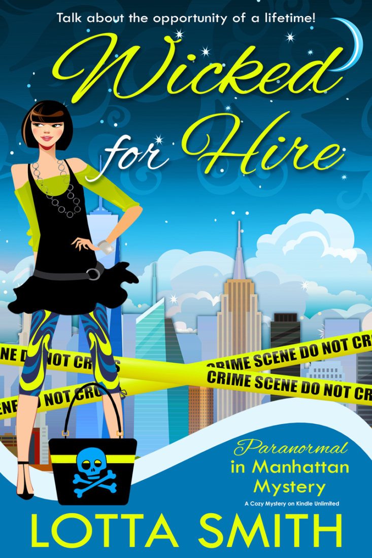 Book Review: Wicked for Hire by Lotta Smith