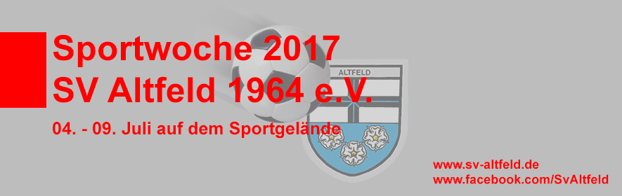 Sportwoche 2017