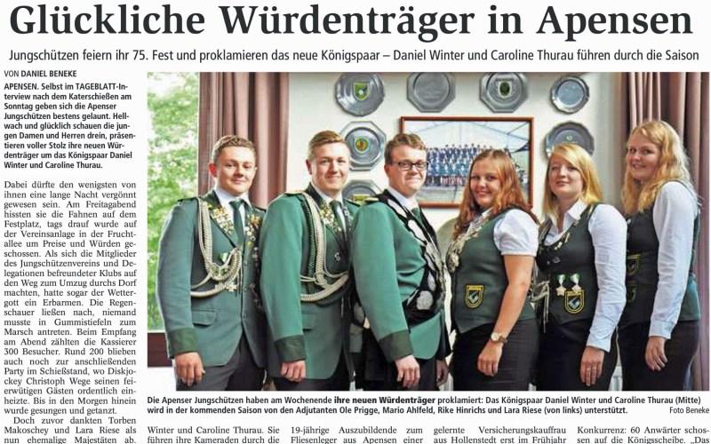 Tageblatt, 7. Sept. 2015
