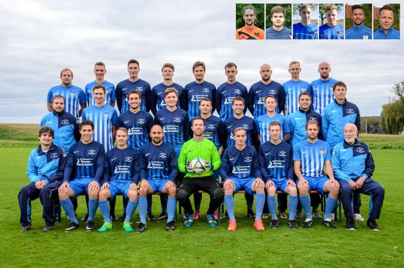 SG Erlach-Sulzfeld Mannschaftsfoto 2017-18