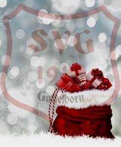 Weihnachts- und Neujahrs Wünsche - Fußballverein im Saarland