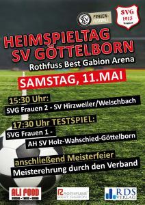 Heimspiel und Meisterfeier - Fußballverein im Saarland