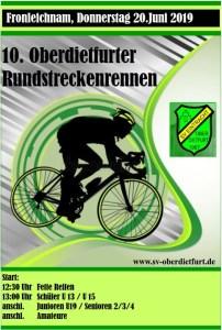 Flyer SVO Radrennen