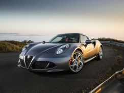 Alfa Romeo 4C Coupe Grey