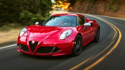 Alfa Romeo 4C Coupe Red