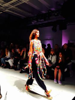 libertine model fashion Skylight Clarkson Sq New York NYFW september chains