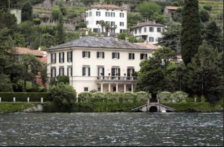 George Clooney's Villa.