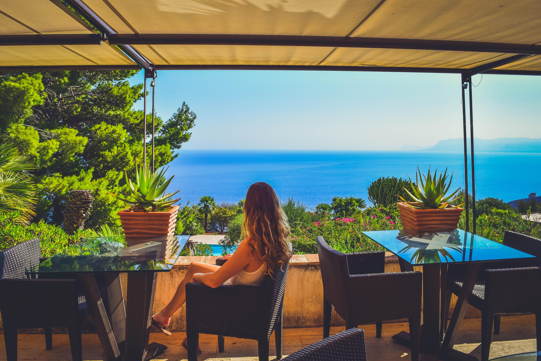 breakfast mediterranean sea view Hotel Baglio La Porta Sicilia near San Vito Lo Capo Riserva dello Zingaro Private exclusive resort cliffs best of sicily sicilia hidden gem off the beaten path luxury