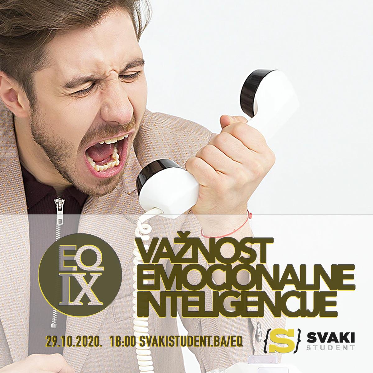 """EQ IX – """"Važnost emocionalne inteligencije"""" – Deveti seminar za studente u Mostaru"""