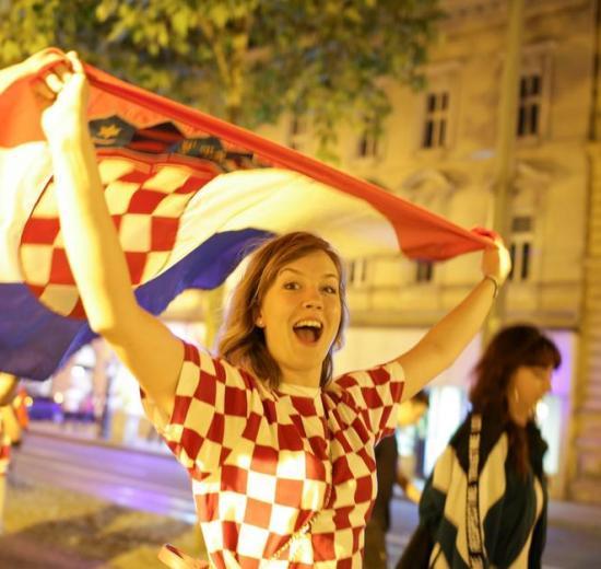 Slavlje nakon pobjede nad Rusima