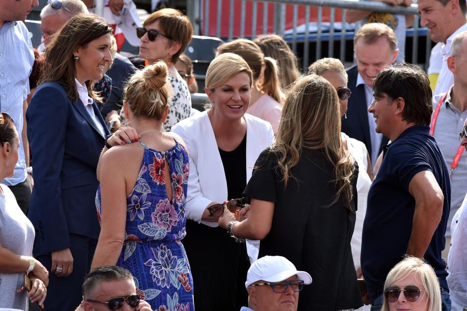Zadar: Poznati prate teniski meÄ parova Davis Cupa izmeÄ'u Hrvatske i SAD-a   Autor: Hrvoje Jelavic/PIXSELL