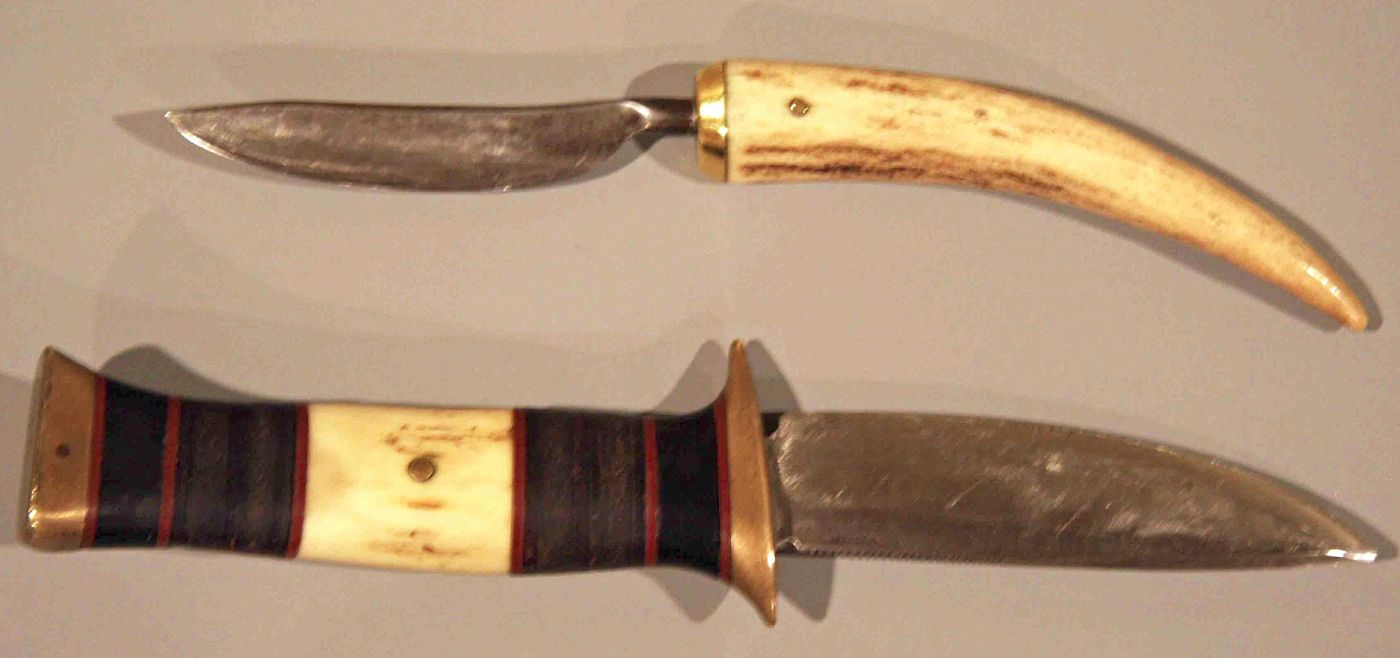 Two Scagel Knives