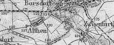 Althen Karte um 1899