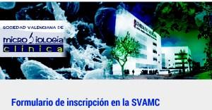 Solicitud de inscripción de la Sociedad Valenciana de Microbiología Clínica.