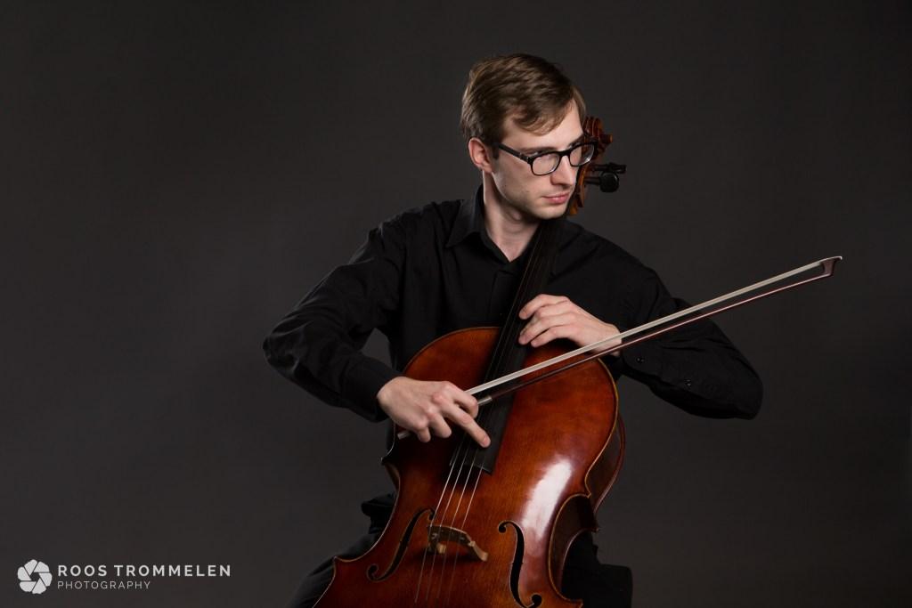 Cellist Sebastiaan van den Bergh