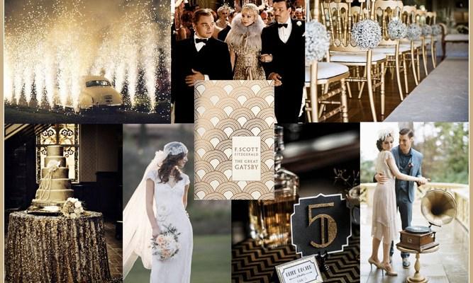 Dekadentní, okázalá ahříšně krásná – taková je svatba ve stylu Art Deco