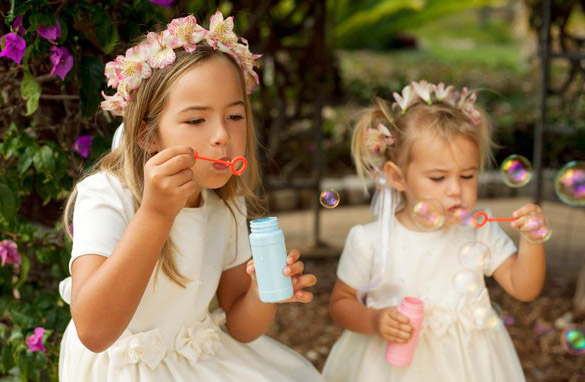 Děti na svatbě