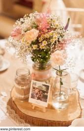 kvetiny v rustik stylu