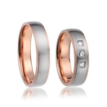 Snubní prsteny zchirurgické oceli