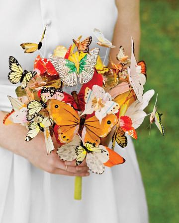 Svatební dekorace – motýli