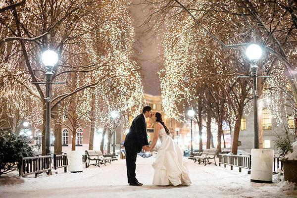 Zimní svatby