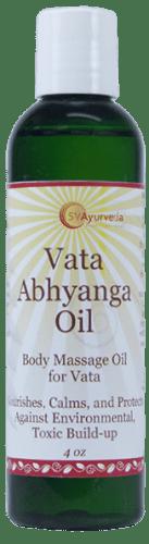 Vata oil 4 oz