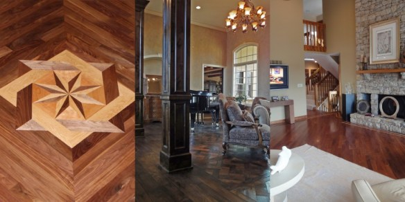 A picture of our favorite hardwood floor designs