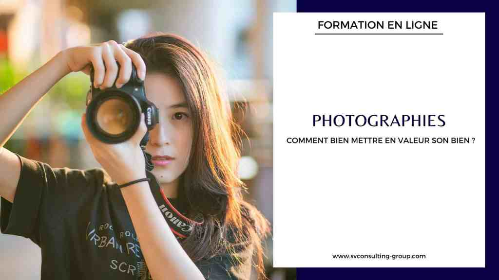 Formation - Photographies Conciergerie Agence immobilière - SV Consulting