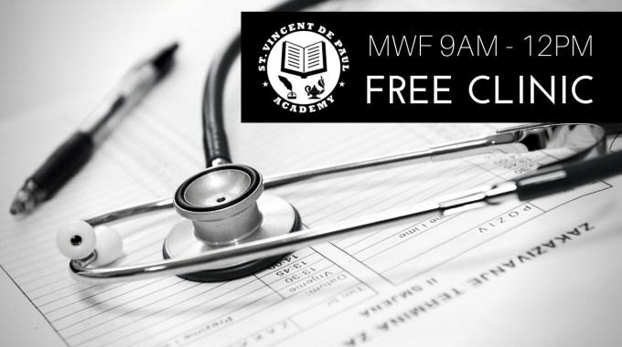 SVDPA Free Clinic Hours