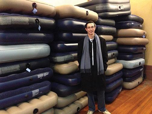 david-t-with-air-mattresses