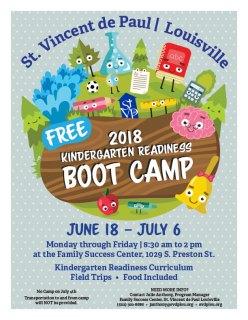 FSC 2018 Kindergarten Readiness Camp