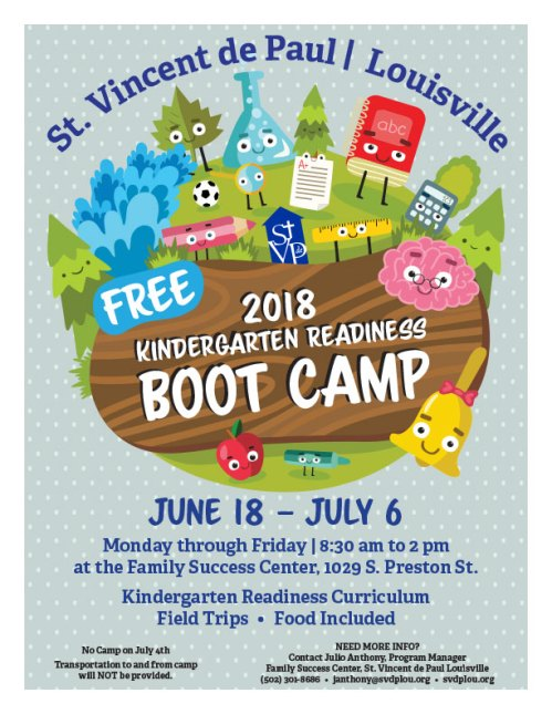 FSC 2018 Kindergarten Readiness Camp
