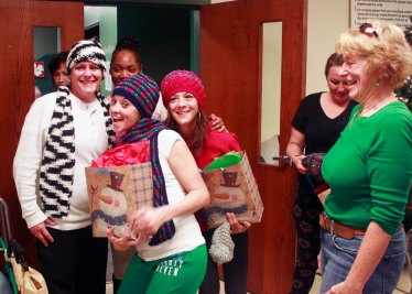 St. Jude, CH1 & Ch2 Ladies, and SRO Ladies Holiday Party sponsored by St. Michael.