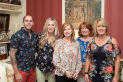 Matt Wilson, Lindsay Ramser, Amy Smith, Julie Breedlove and Susan Schroeder. Photo by Andrea Hutchinson, courtesy of The Voice-Tribune.