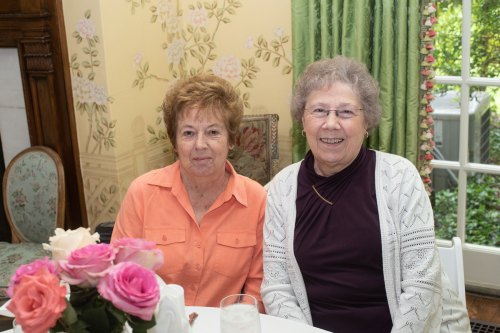 Martha Wheeler and Ann Bizzell. Photo by Andrea Hutchinson, courtesy of The Voice-Tribune.