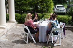 Attendees enjoyed the prefect weather. Photo by Andrea Hutchinson, courtesy of The Voice-Tribune.