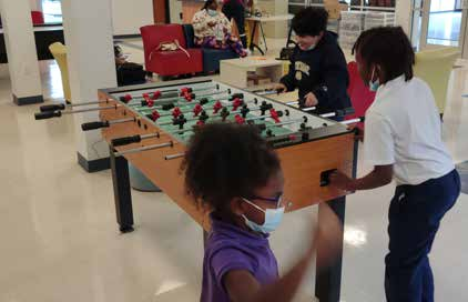 Children playing at the Family Success Center