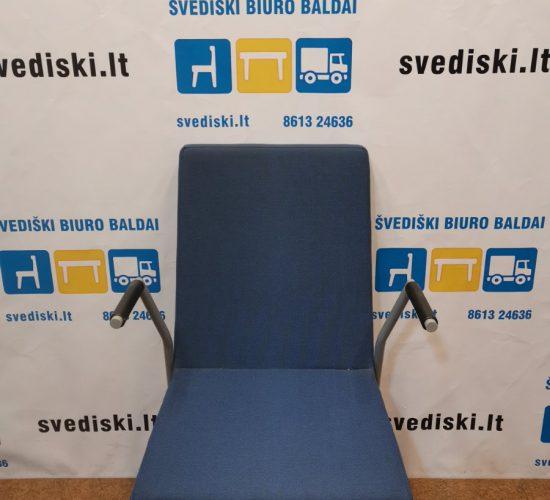Kaystone Mėlyna Lankytojo Kėdė Su Porankiais, Švedija